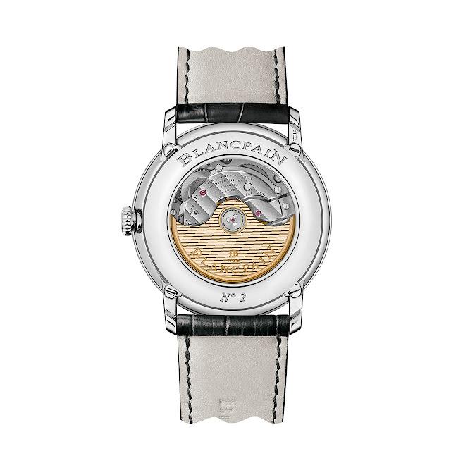 Blancpain Villeret Quantième Complet GMT Automatic Watch