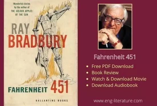 Free Download Bradbury's Fahrenheit 451 PDF, Audiobook, Movie, Book Review