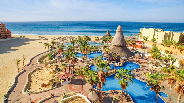 Sandos Finisterra Los Cabos is one of the most famous all inclusive resorts in Cabo San Lucas, Mexico. Stay in gravity-defying rooms that extend outwards from the rock face or spacious ocean view suites.