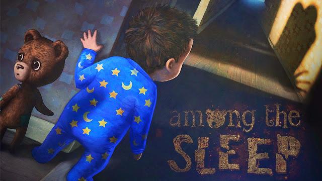 تحميل لعبة الرعب و المغامرة Among the sleep نسخة كاملة.