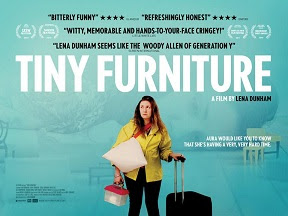 Tiny Furniture UK quad movie poster