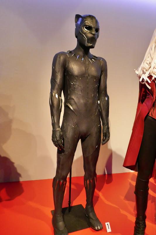 Chadwick Boseman Black Panther movie costume