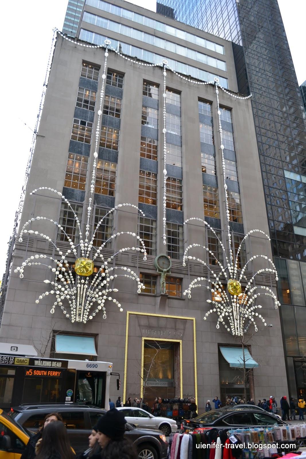 Рождественский Нью-Йорк 2014 -  Tiffany & Co