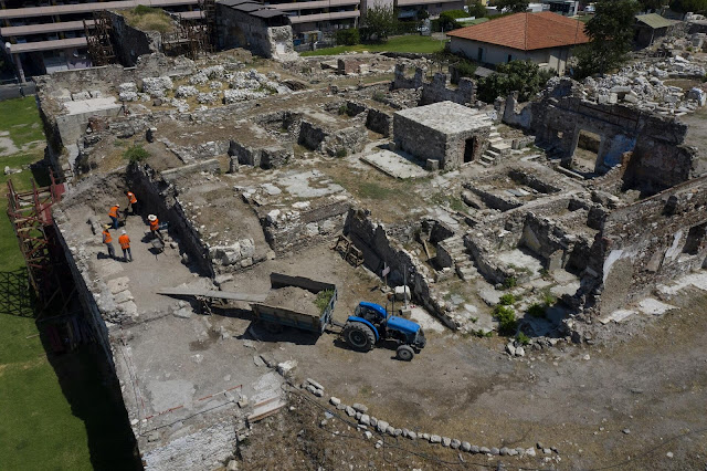 New discoveries at the ancient Greek city of Smyrna in Turkey