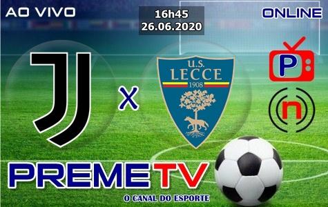 Juventus x Lecce Hoje Ao Vivo