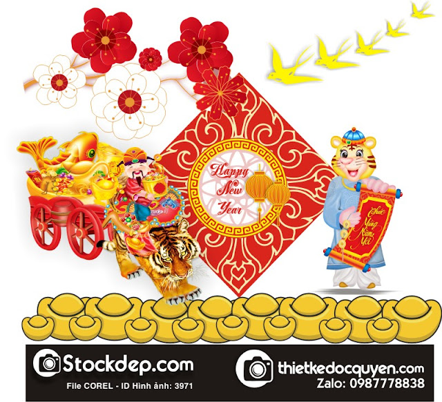 Chinese new year 2022 – year of the tiger file cdr
