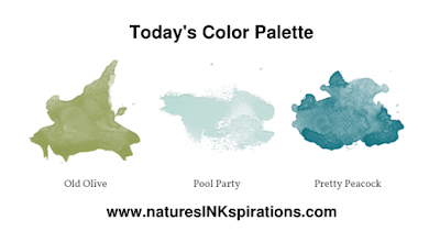 Today's Color Palette | Inspired by #sharesunshine PDF download | Nature's INKspirations by Angie McKenzie