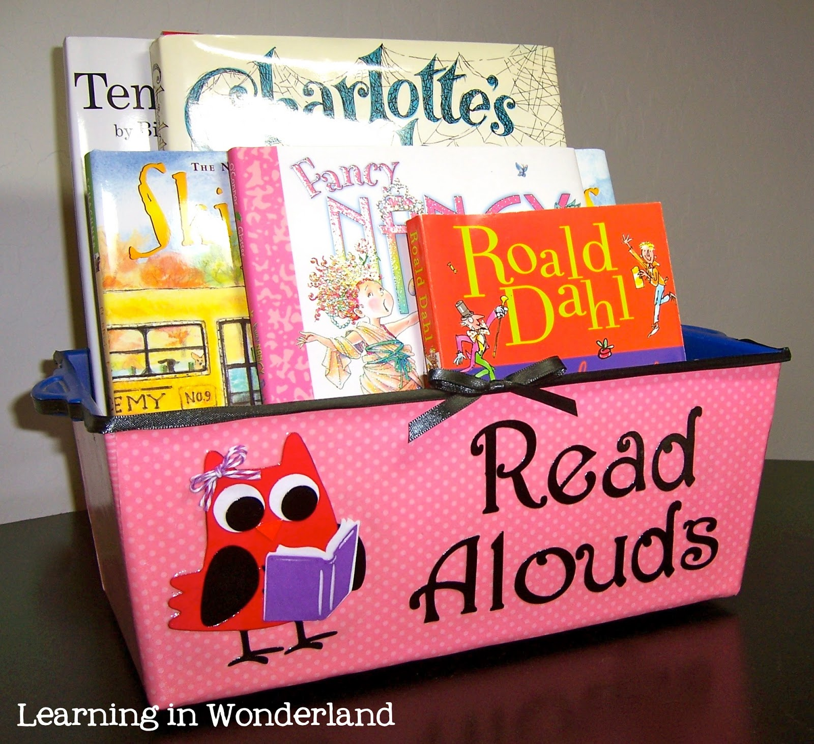 Literacy Classroom Decor ~ Owl themed classroom decor learning in wonderland