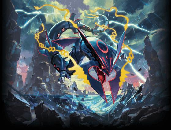 Será repartido Rayquaza variocolor del Pokémon Center Skytree Town