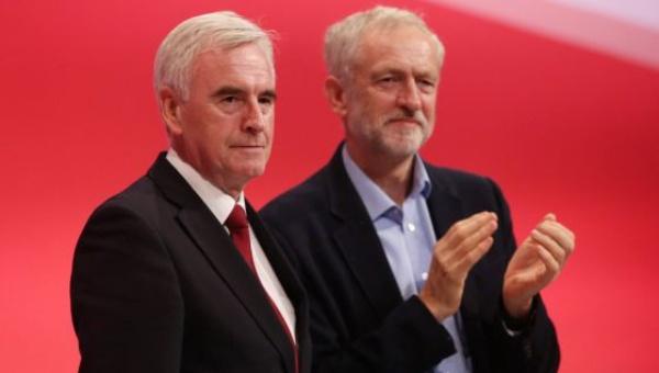 Laboristas intervendrán economía del Reino Unido si ganan en 2020
