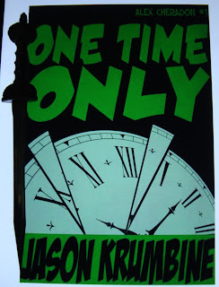 Portada del libro Only Time Only, de Jason Krumbine