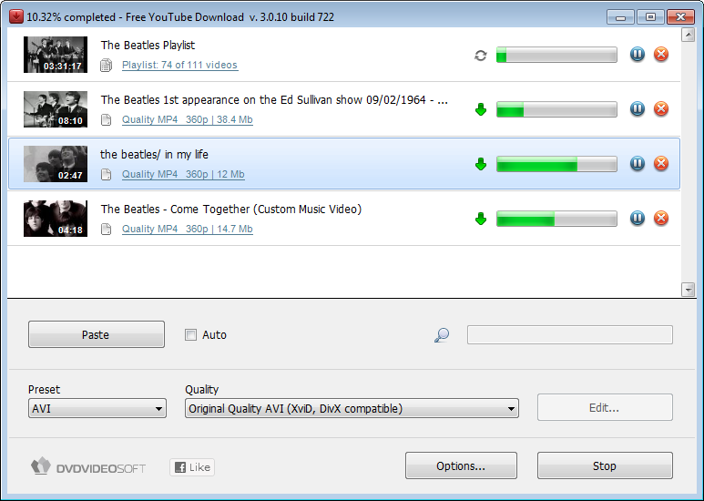 Free YouTube Downloader ~ Free Download Software