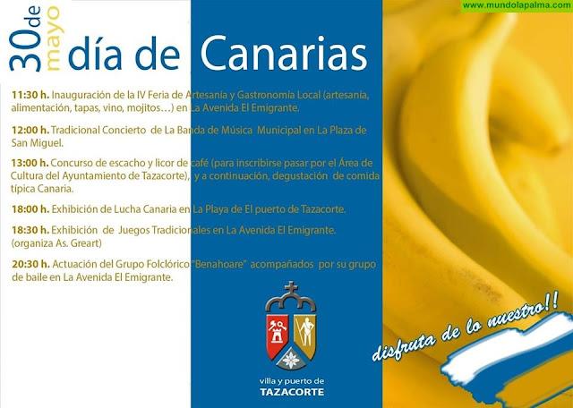 Agenda 30 de Mayo Día de Canarias en Tazacorte