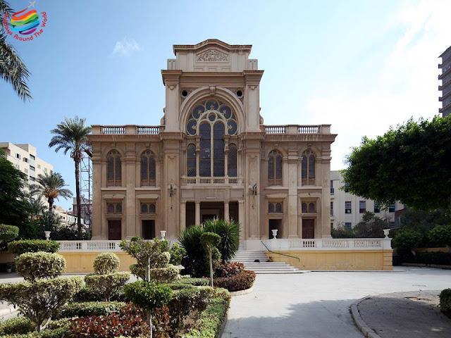 Synagogue -Prophet Daniel Jewish Temple - Alexandria