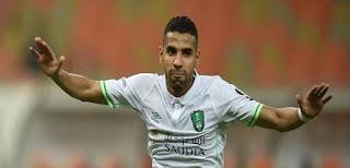 بالفيديو ,ابداع مؤمن زكريا في أولى مباراته ,يسجل هدفين مع النادى الأهلي السعودي