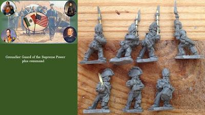 MAWMX22 - Grenadier Guard of the Supreme Power & MAWMX23 - Grenadier Guard Command