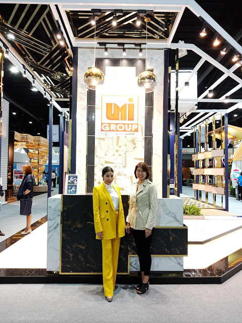 "UMI GROUP ร่วมโชว์นวัตกรรมและเทรนด์กระเบื้องปี 2019 ""ART DECO""  ในงานสถาปนิก' 62 งานสถาปนิก' 62"