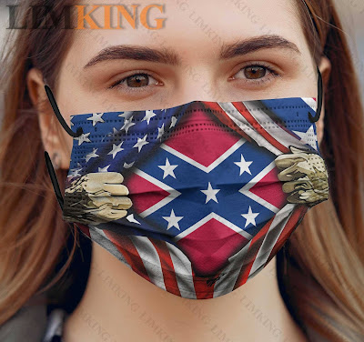 Southern United States Flag Face masks facemask. Loove it? GET IT HERE