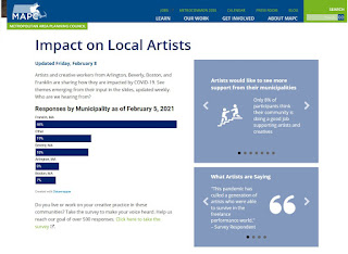 """MAPC: """"Across the region, arts and culture has been devastated by the COVID-19 pandemic"""""""