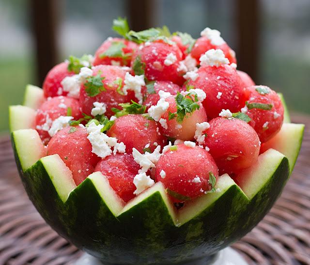Fabulous Fridays: Cajun Chicken With Watermelon Salad
