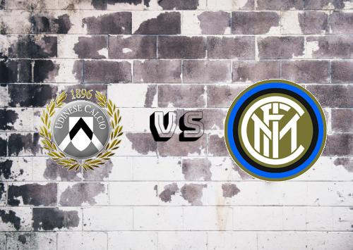 Udinese vs Internazionale  Resumen y Partido Completo