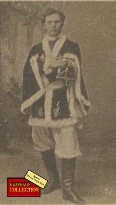Charles Knie en costume de tsar