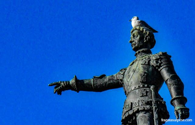 Cidade do Porto, Portugal, Monumento ao Infante D. Henrique
