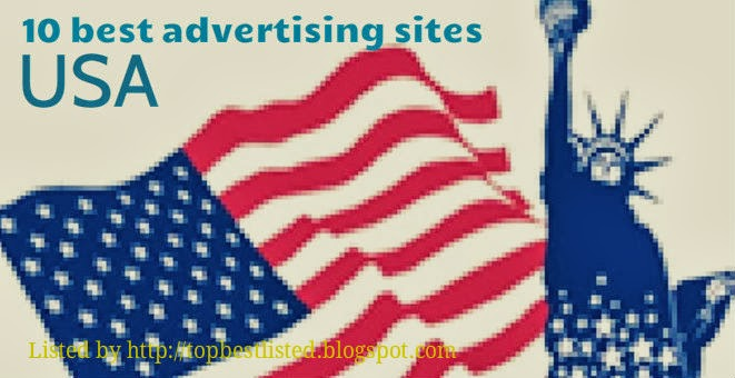 10 most popular advertising web sites in united states for Online sites in usa