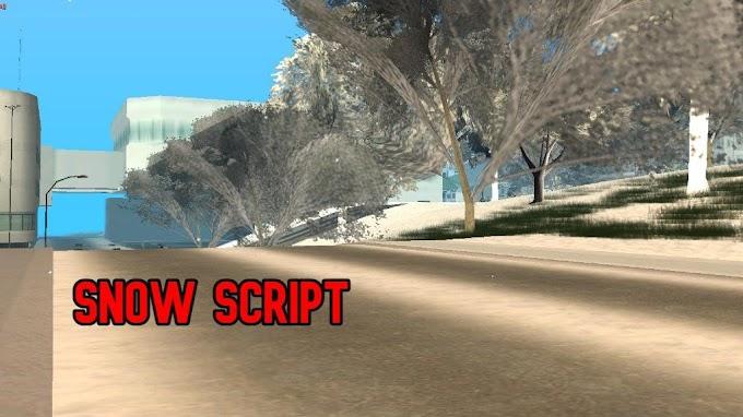 MTA SA Snow - Kar Modu script