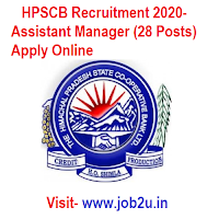 HPSCB Recruitment 2020, Assistant Manager