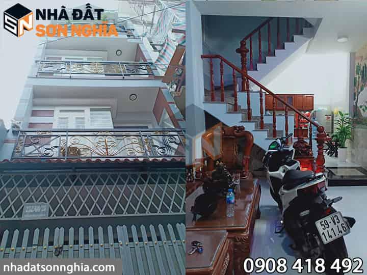 Nhà hẻm 252 Phạm Văn Chiêu p.9 Gò Vấp - 4,1x11m 3,5 tấm giá 4,75 tỷ