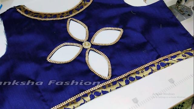 lehenga blouse design cutting and stitching