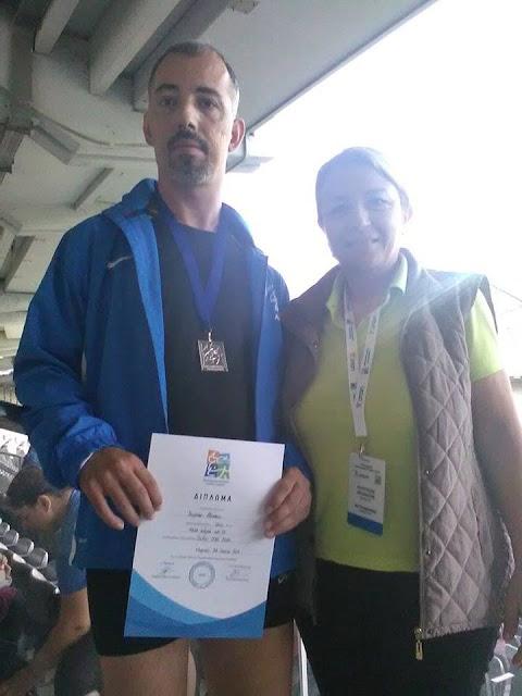 2ος στα 400μ. ο Νάσος Κουρτέσης στο Πανελλήνιο Πρωτάθλημα Στίβου ΑμεΑ