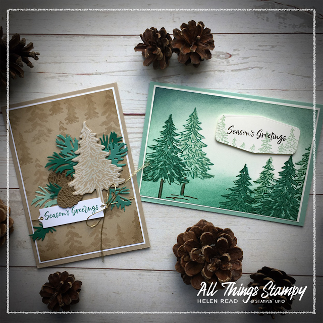 In The Pines Stampin Up ideas