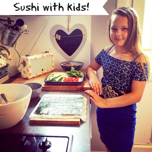 Make Sushi At Home With The Kids!
