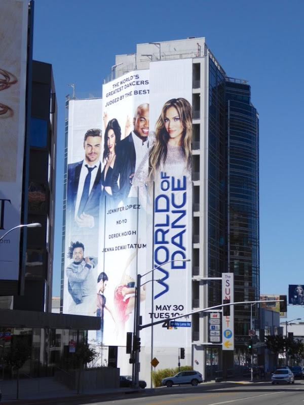 Giant World of Dance series billboard
