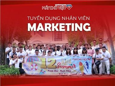 [Máy Chủ Việt] Tuyển dụng 2 chuyên viên Marketing