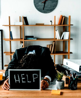 Tips Ampuh Atasi Stres Kerja di 2020