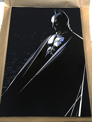 "Batman ""Dark Knight"" Standard Edition Screen Print by Craig Drake & Hero Complex Gallery"