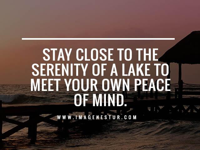Lake Sunset Instagram Captions