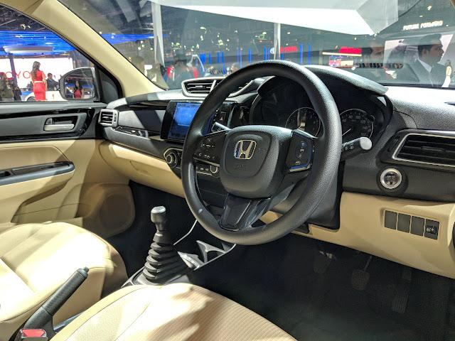 Honda Amaze 2018 é revelado na Índia