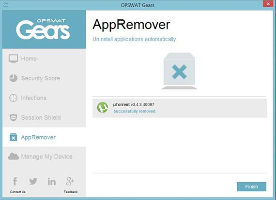 تحميل برنامج AppRemover لإزالة برامج الحماية  التى لا تسمح لك بأزلتها