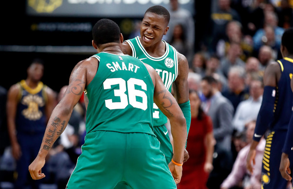 d1ab25c4df6c Marcus Smart   Terry Rozier - Chaos Connection continues vs. Wolves. Early in  the season