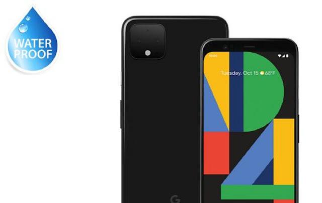 Google Pixel 4 xl ip Rating