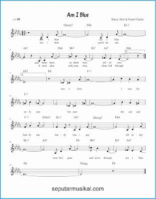 am i blue lagu jazz standar