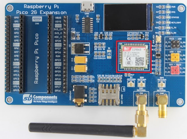 Raspberry Pi Pico 2G Expansion : Complete Review of GSM/GPRS/GNSS Module Based on Pico