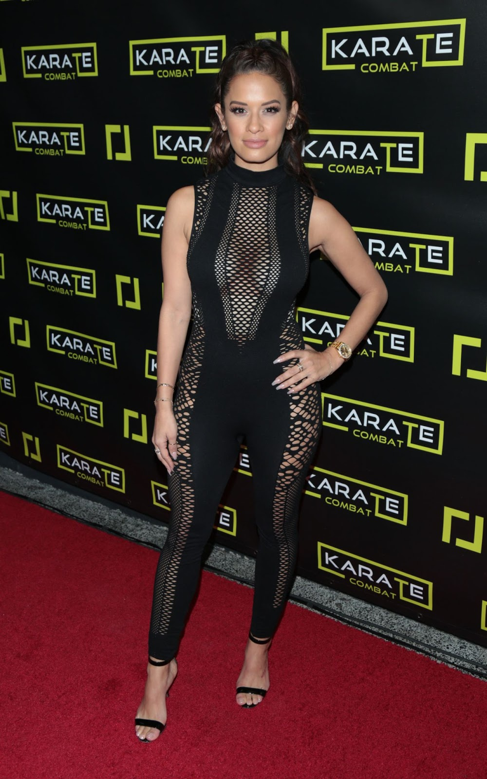 Rocsi Diaz – Karate Combat: Competition in LA 01/24/2019