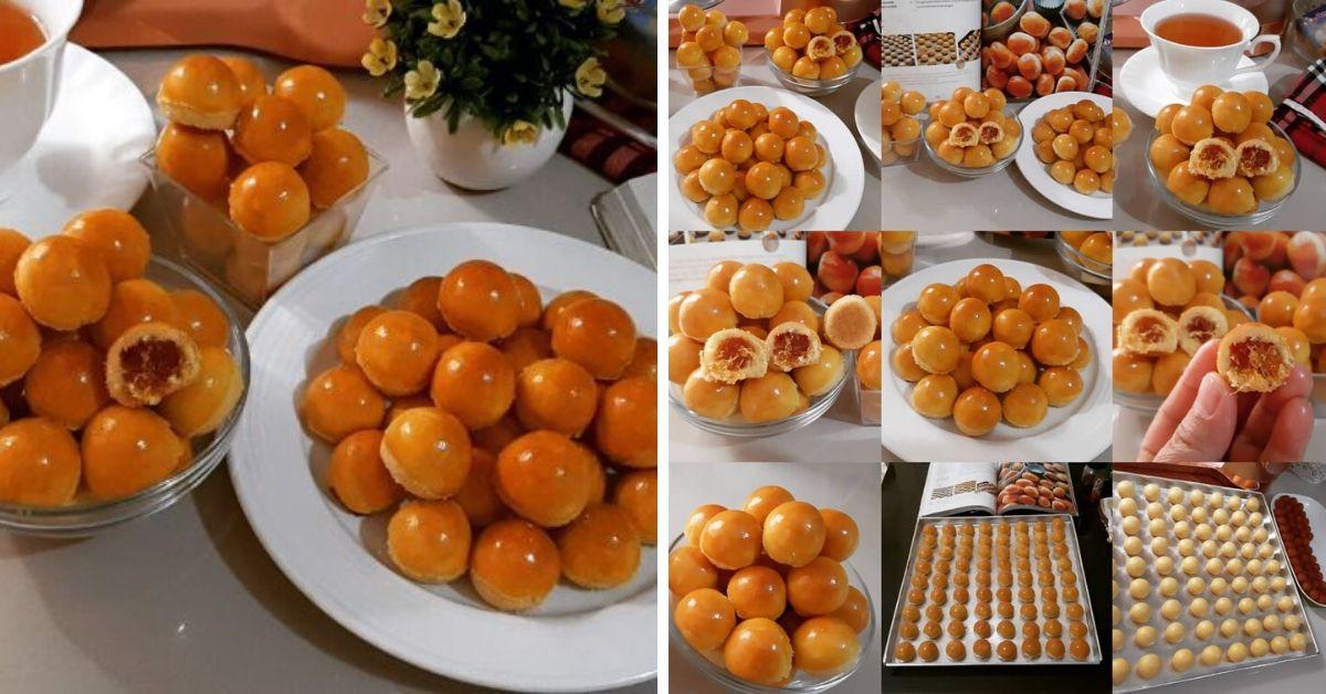 Resep Nastar Lumer Cakep Banget Warna Gold Kinclong Resep Spesial