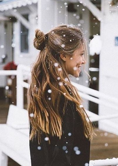 awesome winter hairstyle idea
