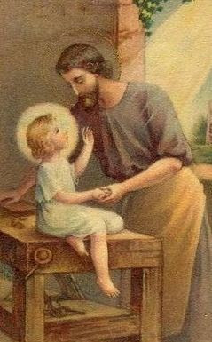 San Jose y el niño Jesus